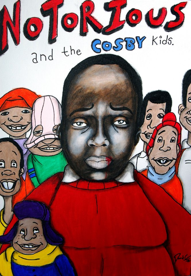 """""""Notorious and the Cosby Kids"""" - starring Notorious B.I.G"""