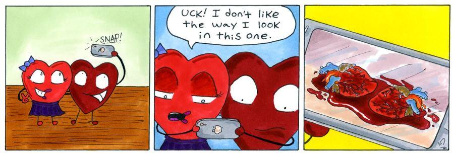 heartselfie